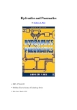 Ebook Hydraulics and pneumatics