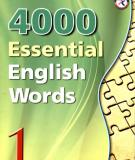 Ebook 4000 essential English words 1 - Paul Nation