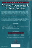 Make Your Mark in Food Service