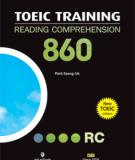 Ebook TOEIC training reading comprehension 860