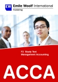 Ebook ACCA F2 Study text Management Accounting