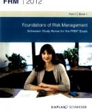 Financial of Risk Management FRM book 1