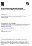 International Journal of Quality & Reliability Management