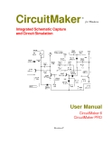 CircuitMaker Integrated Schematic Capture and Circuit Simulation
