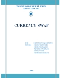 Tiểu luận: CURRENCY SWAP