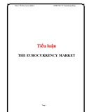 Tiểu luận: The Euro currency Market