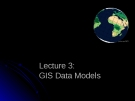 Gis data models
