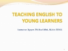 Lectures Module 1: Introduction to the course - Nguyen Thi Hoai Minh