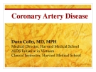 Lecture Coronary artery disease - Donn Colby, MD, MPH