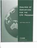 Ebook Analysis of derivatives for the CFA program