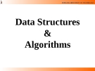Lecture Data Structures  &  Algorithms: Chapter 3