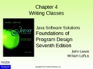 Lecture Java: Chapter 4