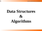 Lecture Data Structures  &  Algorithms: Chapter 6