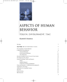 Ebook Aspects of human behavior person, environment, time - .Elizabeth D. Hutchison