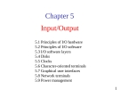 Lecture Operating System: Chapter 05 - University of Technology