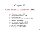 Lecture Operating System: Chapter 11 - University of Technology
