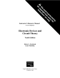 Electronic Devices and Circuit Theory Tenth Edition - Robert L. Boylestad, Louis Nashelsky