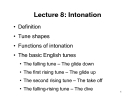 Lecture Phonetics & Phonology: Lecture 8